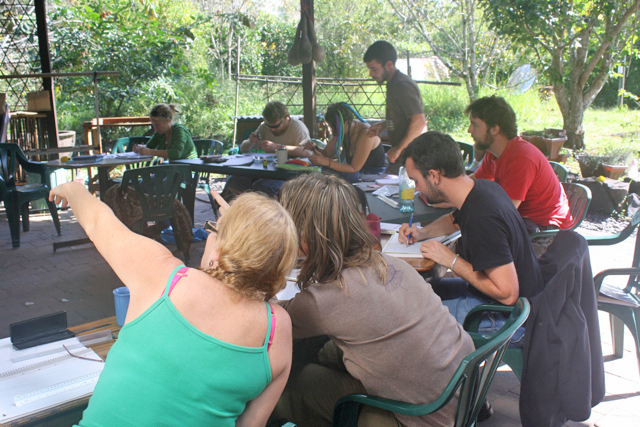 Permaculture Training at Djanbung Gardens
